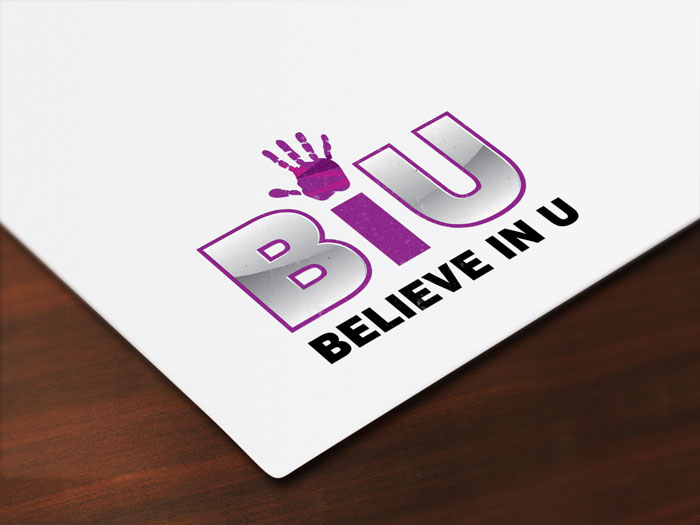 Creative Roots Marketing & Design - Believe In U Logo Design