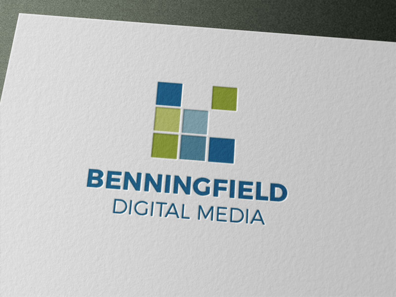 Creative Roots Marketing & Design - Benningfield Digital Media Logo Design