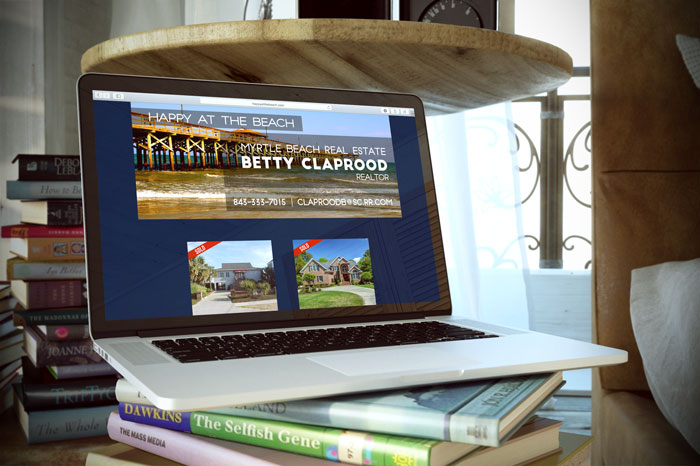 Creative Roots Marketing & Design - Website Design for Betty Claprood