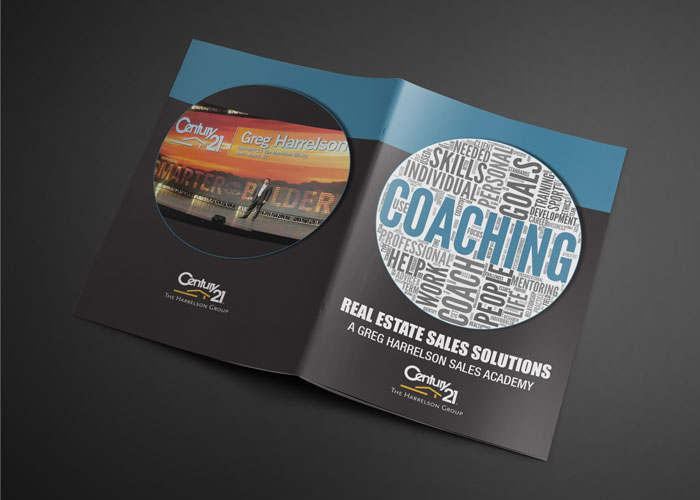 Creative Roots Marketing & Design - Greg Harrelson Real Estate Sales Solutions Booklet Design