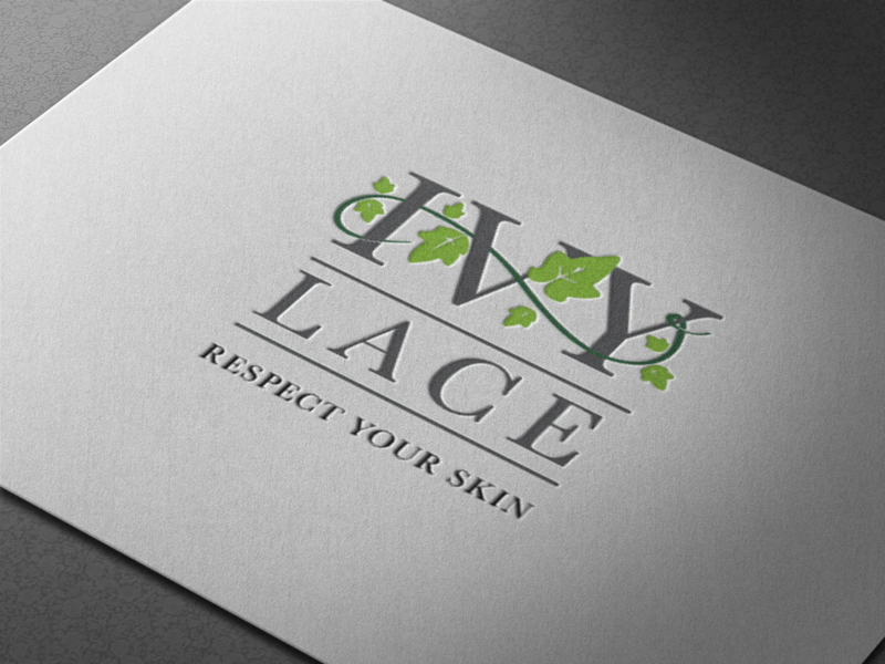 Creative Roots Marketing & Design - Ivy Lace Logo Design