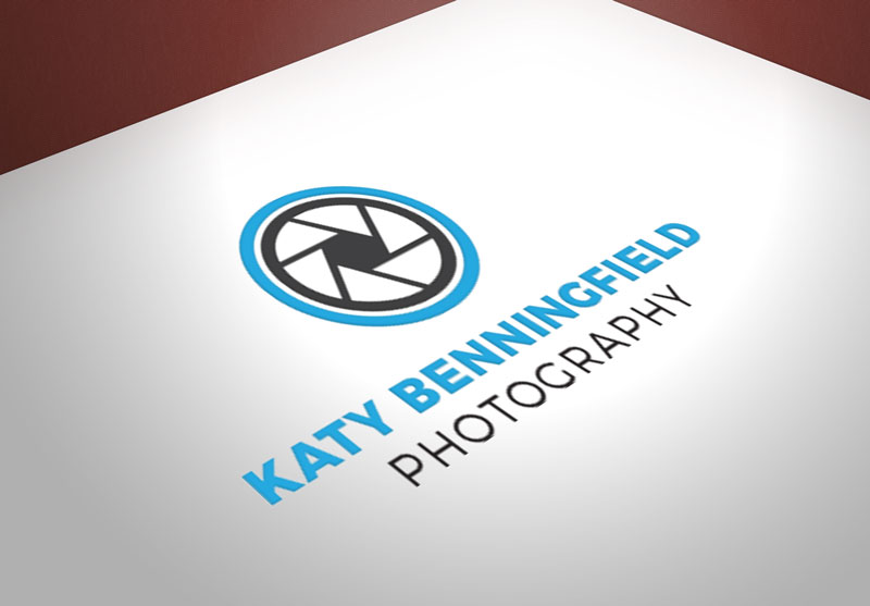 Creative Roots Marketing & Design - Katy Benningfield Photography Logo Design