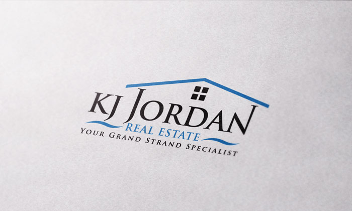 Creative Roots Marketing & Design - KJ Jordan Real Estate Logo Design