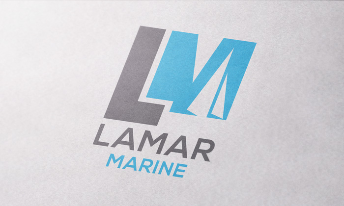 Creative Roots Marketing & Design - Logo Design for Lamar Marine