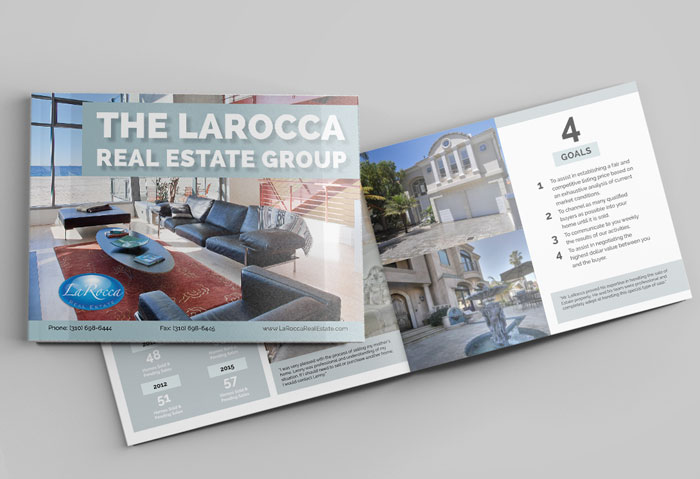 Creative Roots Marketing & Design - Lenny LaRocca Real Estate Booklet