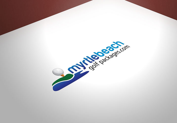 Creative Roots Marketing & Design - Myrtle Beach Golf Packages Logo Design
