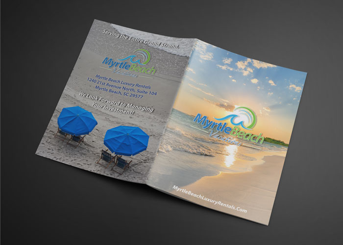Creative Roots Marketing & Design - Myrtle Beach Vacations Booklet Design