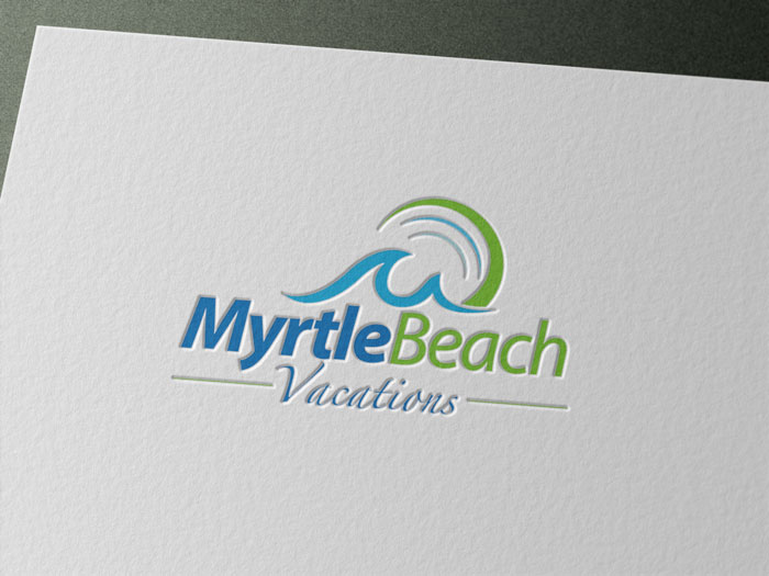 Creative Roots Marketing & Design - Myrtle Beach Vacations Logo Design