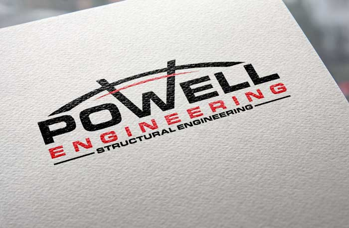 Creative Roots Marketing & Design - Powell Engineering Logo Design