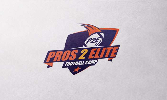 Creative Roots Marketing & Design - Pros 2 Elite Football Camp Logo Design