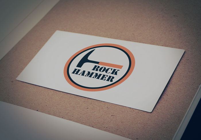 Creative Roots Marketing & Design - Rock Hammer Logo Design