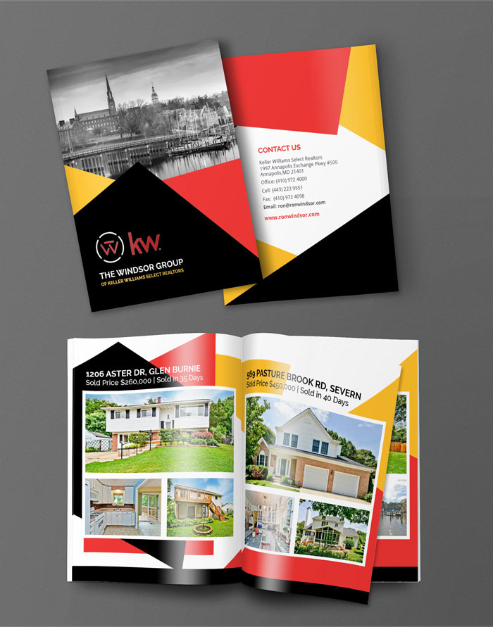 Creative Roots Marketing & Design - Ron Windsor Real Estate Portfolio Design