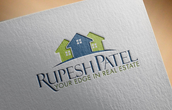 Creative Roots Marketing & Design - Rupesh Patel Real Estate Logo Design