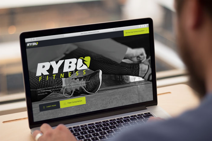 Creative Roots Marketing & Design - Website Design for RYBO Fitness