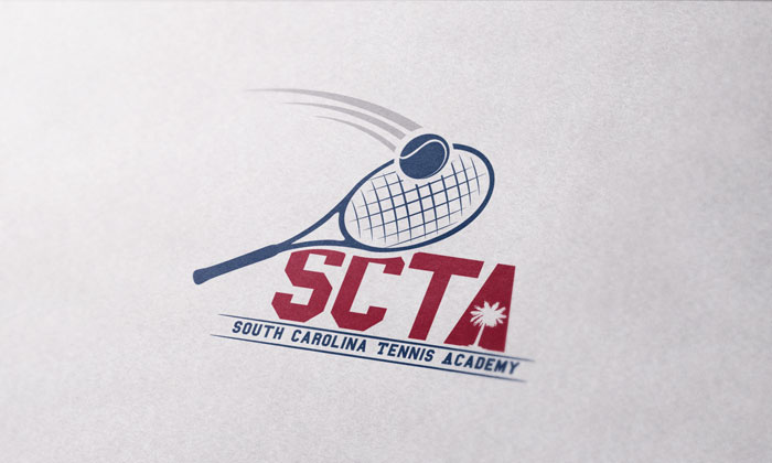 Creative Roots Marketing & Design - South Carolina Tennis Academy Logo Design