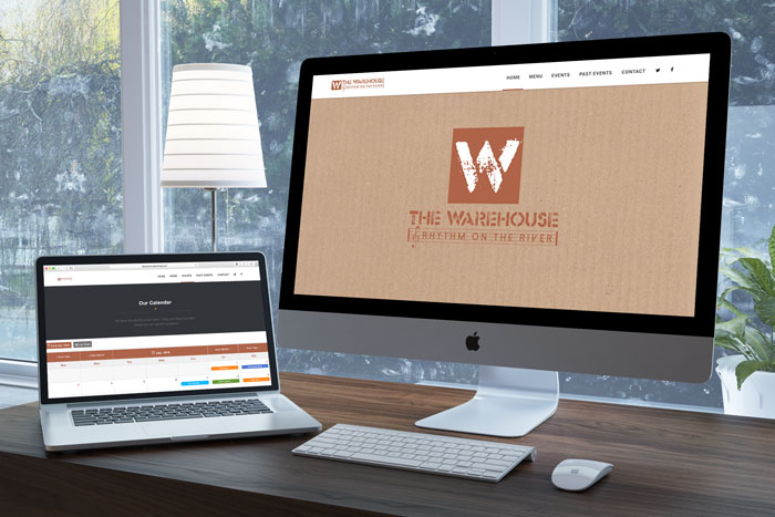 Creative Roots Marketing & Design - The Warehouse Website Design