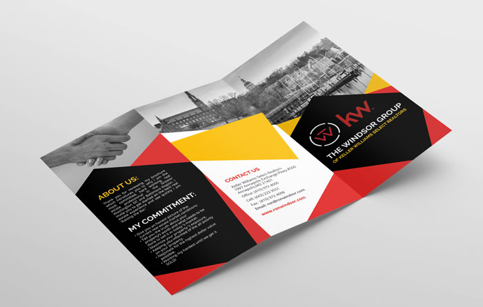 Creative Roots Marketing & Design - The Windsor Group Trifold Design